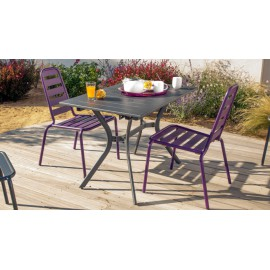 Lot de 2 chaises Menu