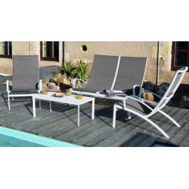 Lot de 2 fauteuils Elegance lounge