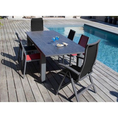 Lot de 2 Fauteuils multi-positions Ida (finition epoxy)