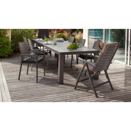Lot de 2 Fauteuils multipositions Latino