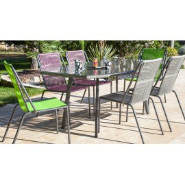 Lot de 2 chaises Spaghetti