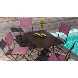 Lot de 6 chaises Barbade