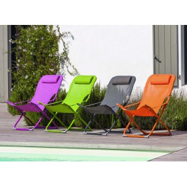 Lot de 2 relax pliants easy