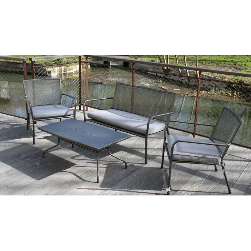 Salon d tente mesh for Salon detente jardin