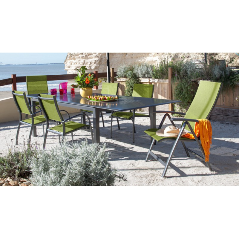 Table florence 220 300 cm for Table exterieur 300
