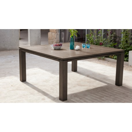 Table Latino carrée 155 cm