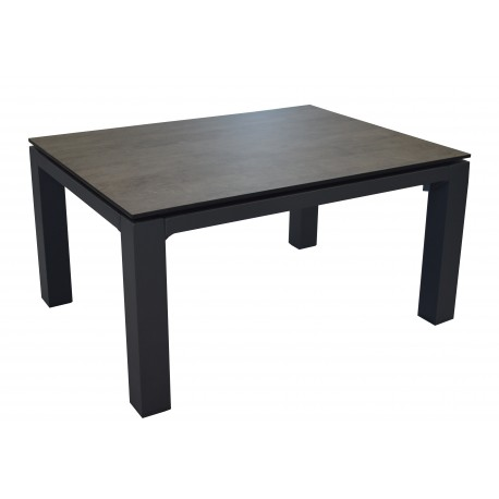 Table basse rectangulaire Stoneo, plateau HPL 80 cm