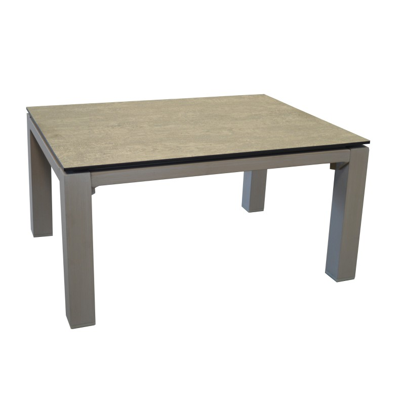 Table basse rectangulaire stoneo plateau hpl 80 cm for Table basse 85 cm