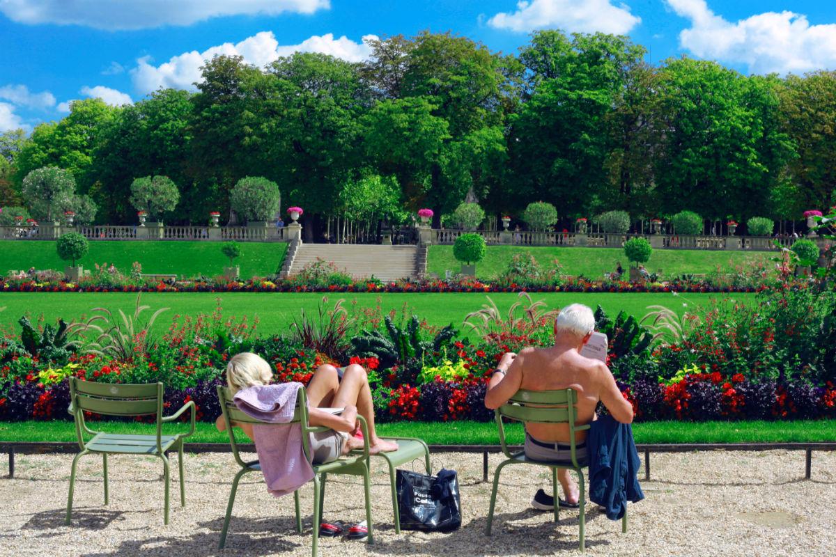chaise jardin exterieur